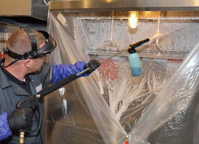 commercial kitchen cleaning & restoration services at sdi